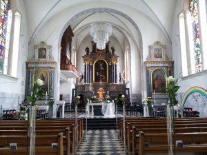 Hochzeit in der Andreaskirche in Gossau