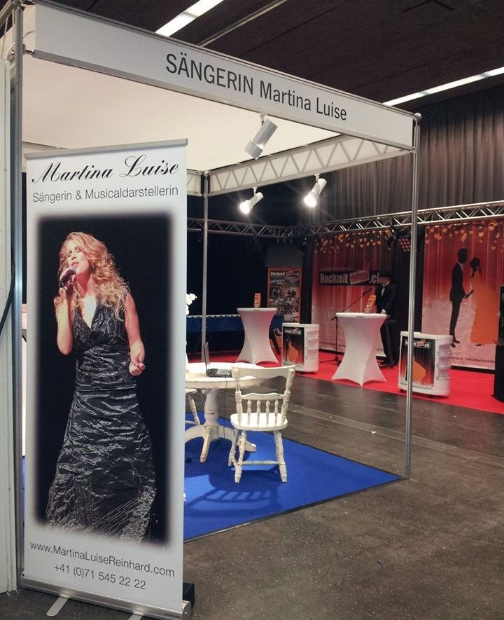 Ausstellerin auf der Fest- und Hochzeitsmesse St.Gallen am 07. & 08. November 2015