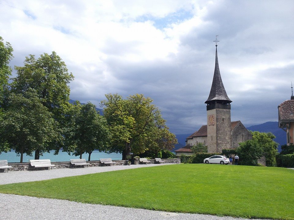 Schlosskirche in Spiez am Thunersee
