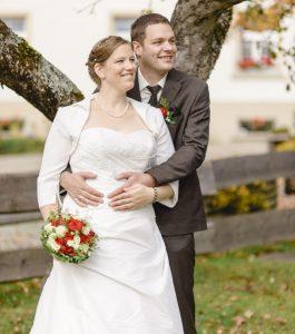 Hochzeitspaar Eva & Hermann in Tiengen