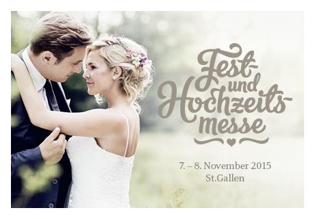 Auftrittszeiten Fest- und Hochzeitsmesse St. Gallen 07. + 08. November 2015
