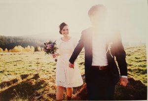 Hochzeitspaar Simone & Kristoff
