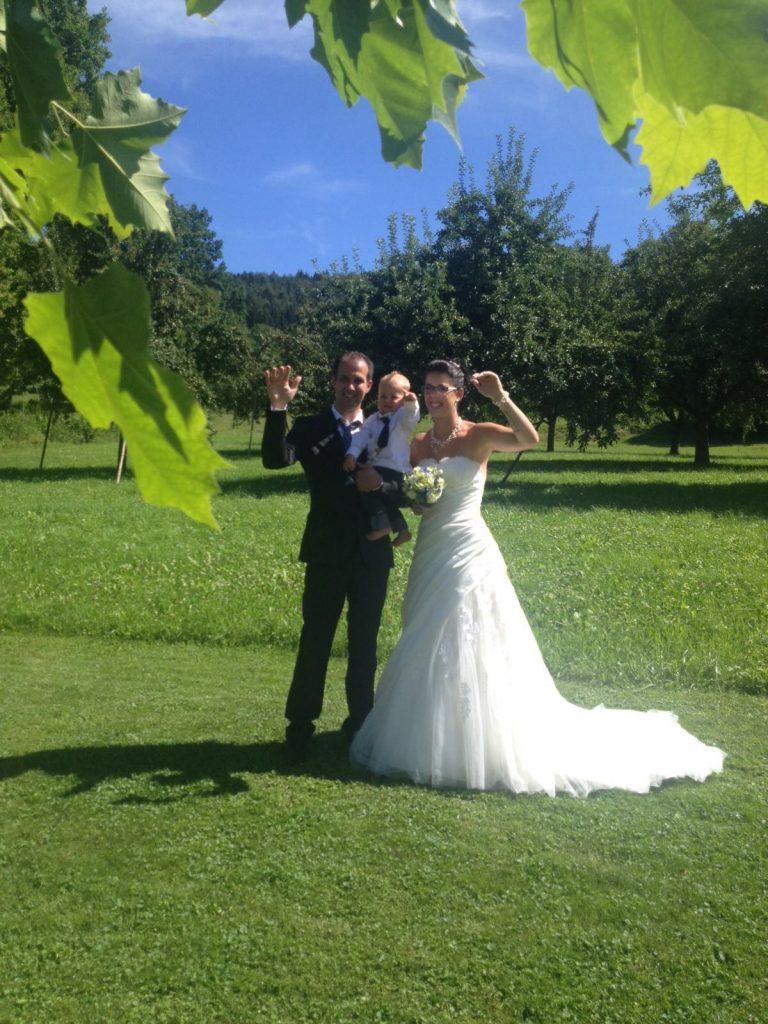 Vanessa und Andy mit Lean