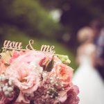 wunderbares Hochzeitspaar