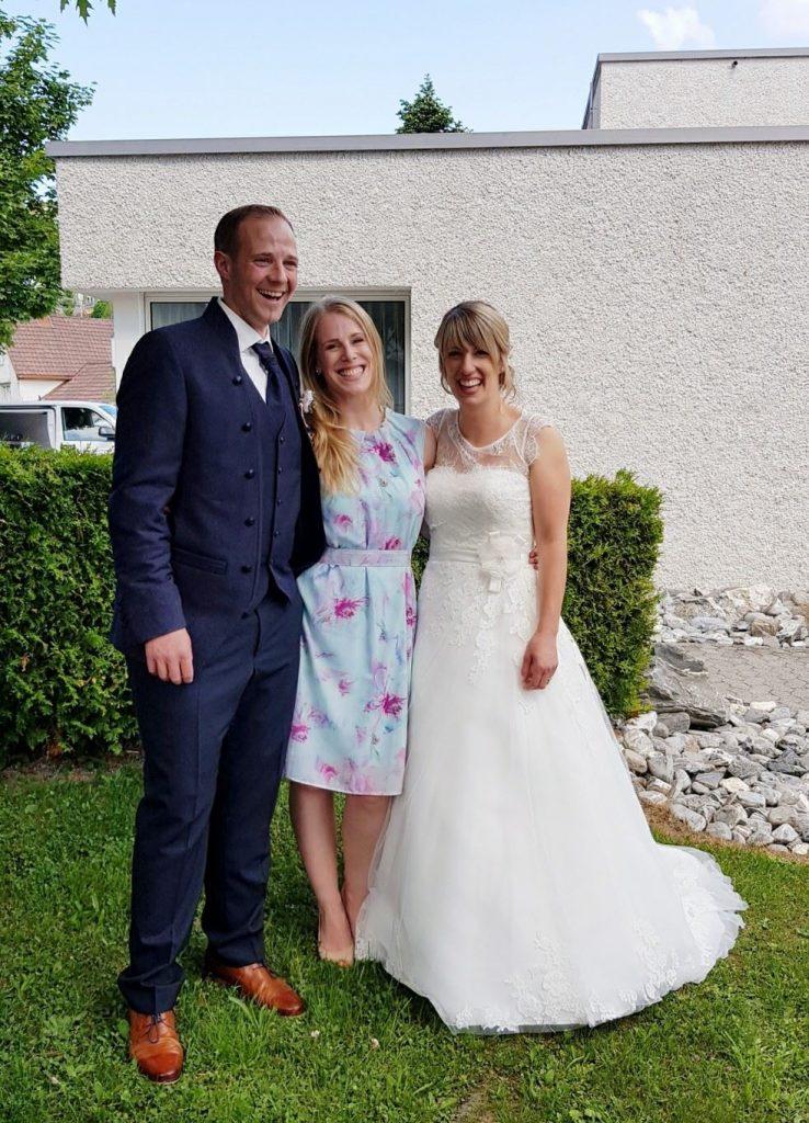 Madeleine & Alexander Hochzeit in Teufen