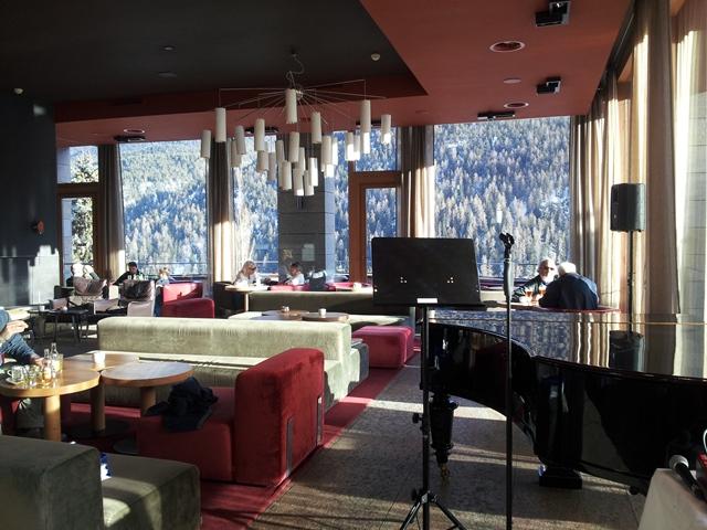 Konzert im Belvedere Hotel in Scuol - Engadin - Livemusik - Piano und Voice