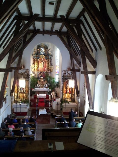 kirchliche Hochzeit in Oesterreich bei Dornbirn