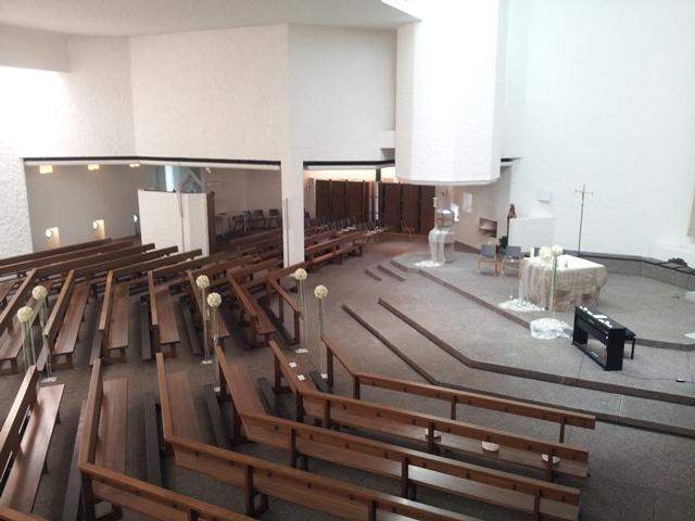 kirchliche Zeremonie in St. Gallen - Ostschweiz