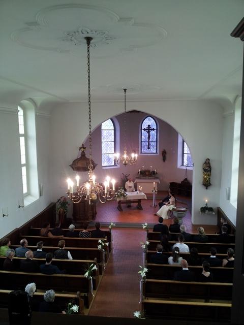 Hochzeit in der Kirche in Guettingen - Thurgau