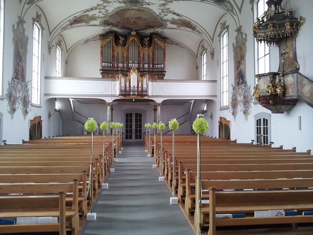 Kirche in Niederbühren - Ostschweiz