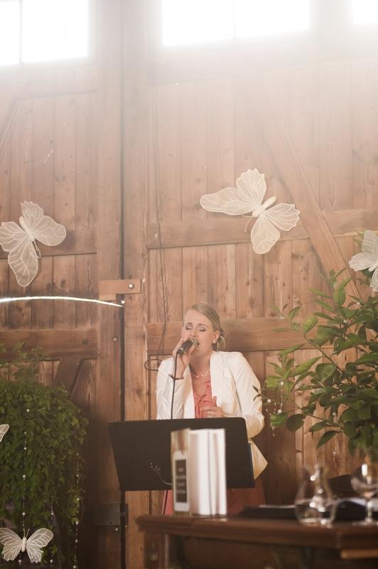Musikalische Umrahmung einer freien Trauung in der Stallstube Riethof