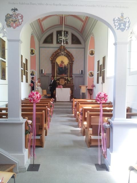 Kapelle am Rorschacherberg - Naehe Schloss Wartensee- kirchliche Trauung