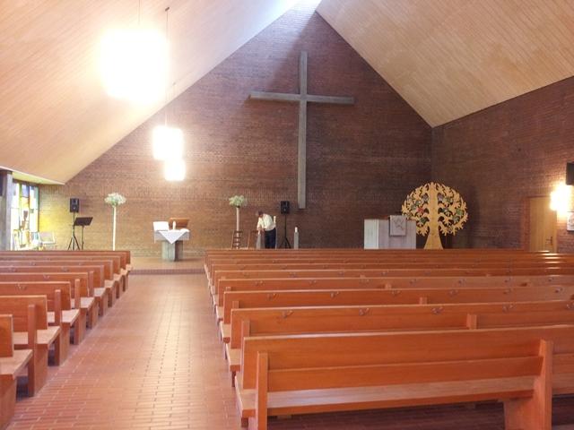 Kirche im Thurgau in Oberrach für einen kirchliche Trauung und Eheschliessung