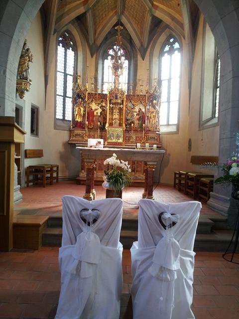 Kirche am Zuerisee - Livegesang - Hochzeitssaenger Martin Luise