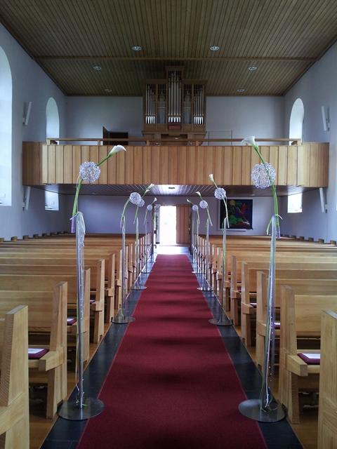 Kirche in Alterswilen in der Schweiz am Bodensee