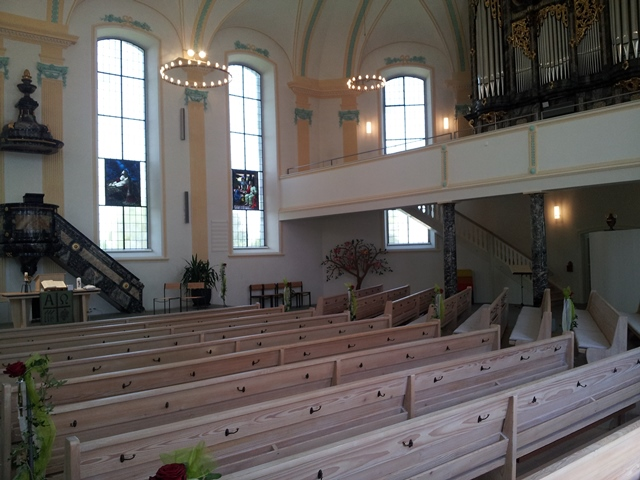 Kirche in Altnau am Bodensee - Thurgau