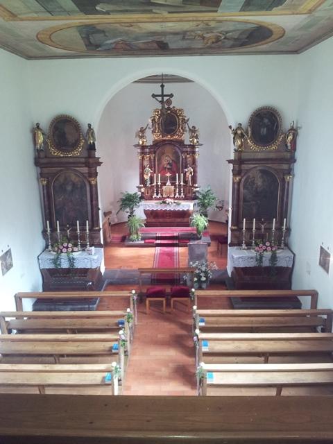Kirche in Liechtenstein bei Balzers - kirchliche Hochzeit