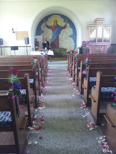 Kirche in Dozwil - Eheschliessung