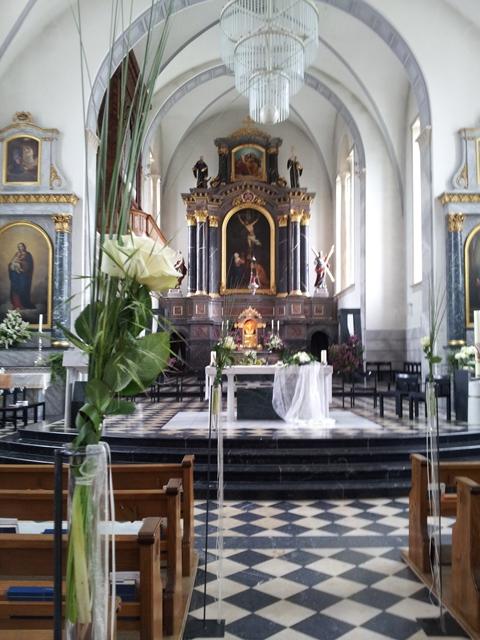 Kirche in Gossau - St. Gallen - Livegesang in der Kirche