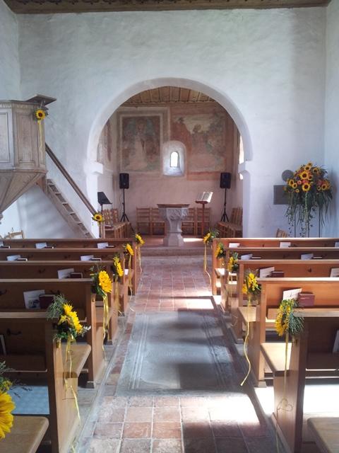 Kirche in Hohentannen - Schweiz