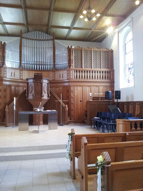 Kirche in Schlatt für eine kirchliche Hochzeit