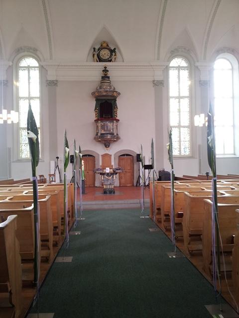 Kirche in Speicher bei St. Gallen - Livegesang zur Trauung