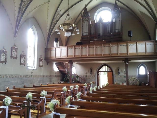 wunderschöne Kirche am Bodensee in Mammern