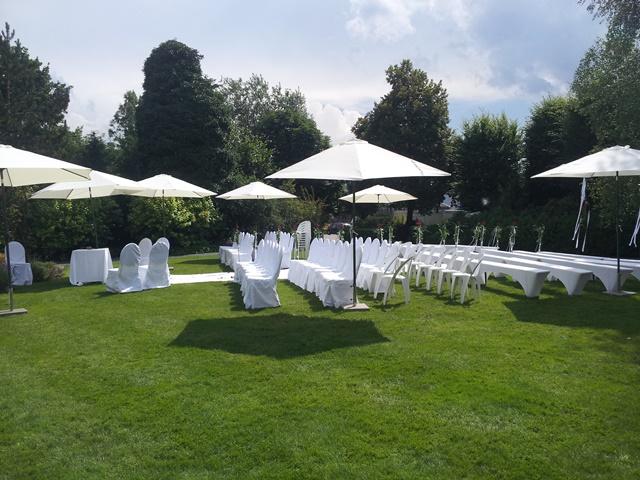 freie Zeremonie beim Remund Gartenpark in Gossau