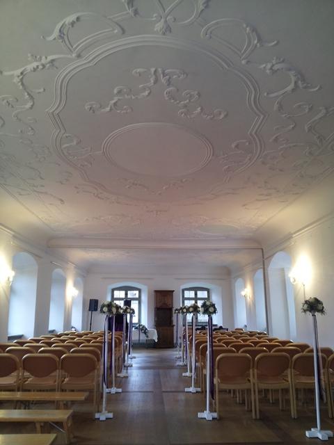 Schloss Roggwil in Roggwil am Bodensee im Thurgau - zivile Trauungen mit Livegesang