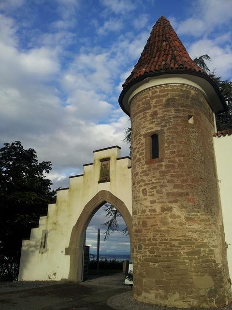 Eingang vom Schloss Wartensee am Rorschacherberg